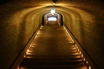 Escaleras de Bodega Freixenet en México