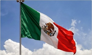 Bandera de México #TomaVinoMexicano