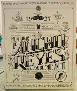 Presentación en caja de Ancho Reyes