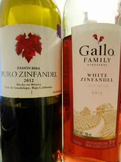 Zinfandel, vinos distintos